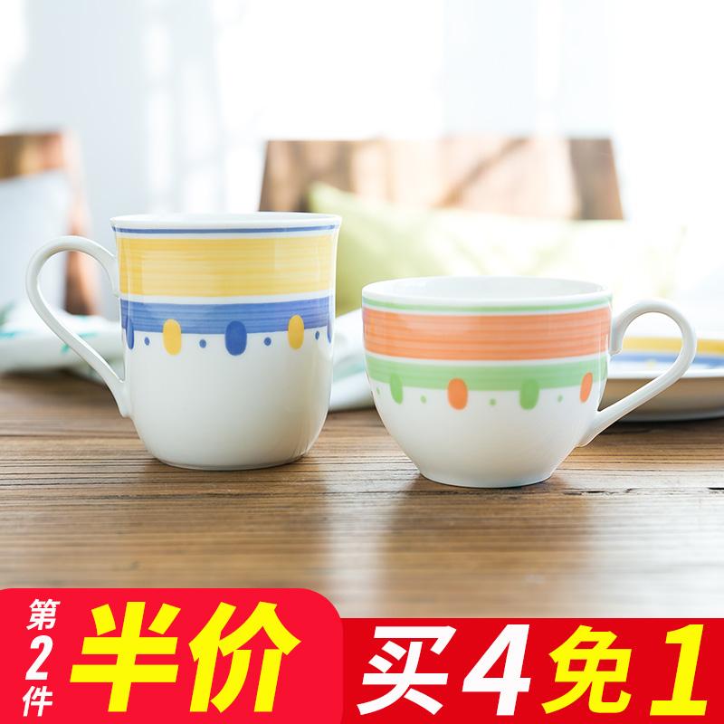Иморт из японии простой стиль керамика чашки японский кружка молоко чашка кофе существует обрабатывать чашка