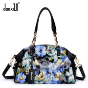Female baodan danxilu leather new handbag shoulder bag 2015 autumn and winter fashion print ladies handbag