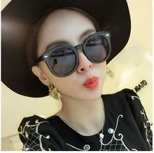 9711 sunglasses wholesale arrow box line ellipse flat frame sunglasses fashion with strong personality