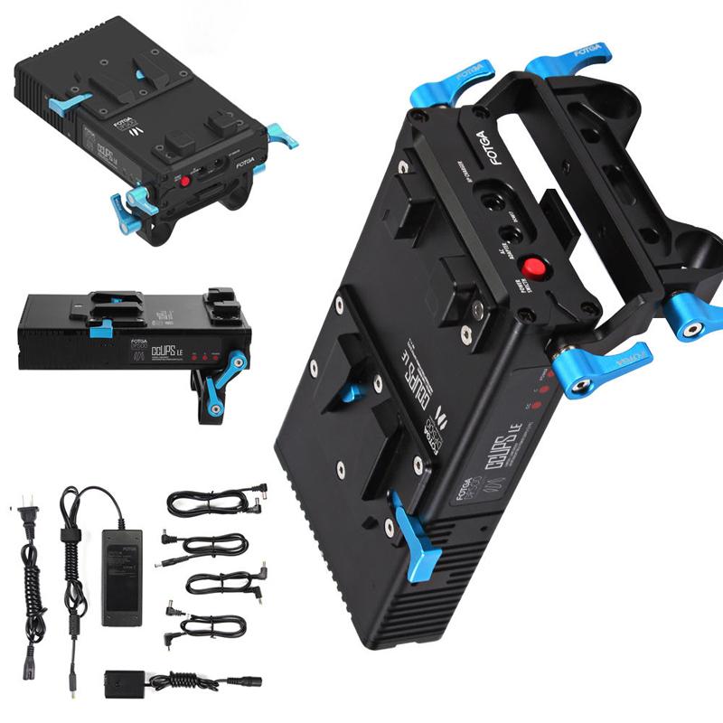 FOTGA DP500III V型口电池扣板供电系统For A7II 5D3 6D 5D2 A7