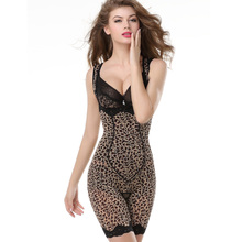 Mei ultra-thin lure Leopard's belly in conjoined at the chest corset radiant inner beauty