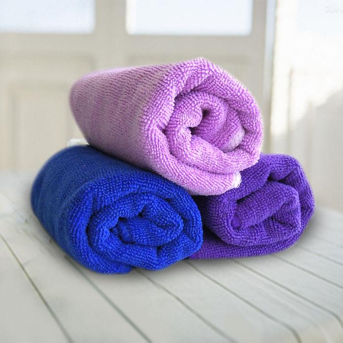 加厚吸水运动毛巾超细纤维擦车巾户外多功能清洁巾1个不掉毛