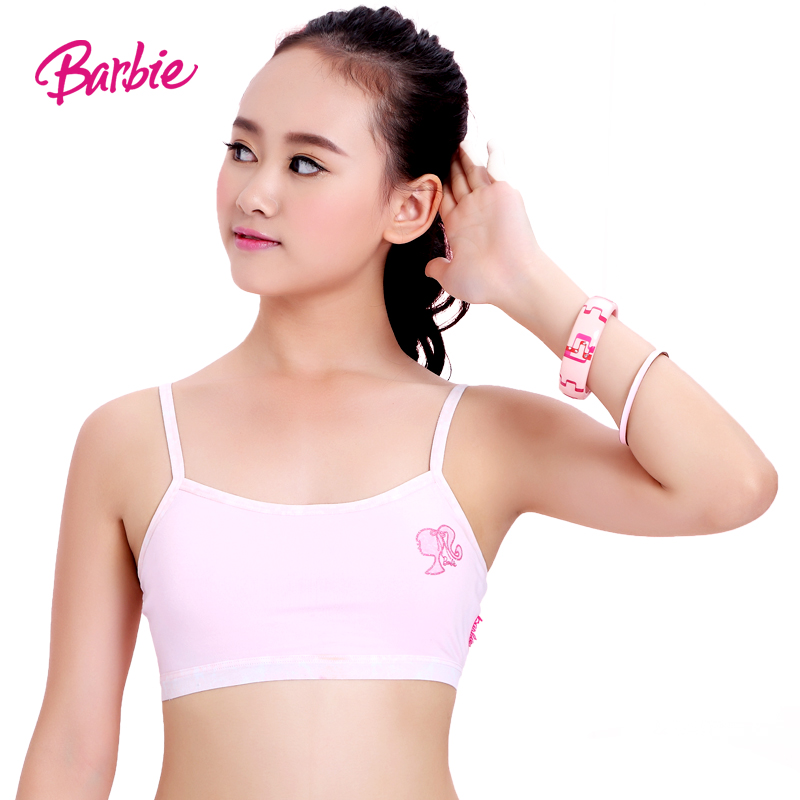 88544ccb55 Barbie girls camisoles and development of children s underwear bra wrapped  chest Bra straps female big boy. Loading zoom