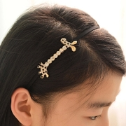 Know Richie set cute cute giraffe rhinestone hair clip headband hairpin deer hair clips hairband