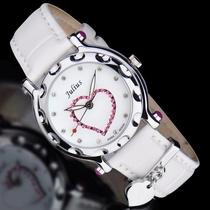 Julius聚利时2014石英机芯手表时尚防水水钻韩版女日韩腕表V7397