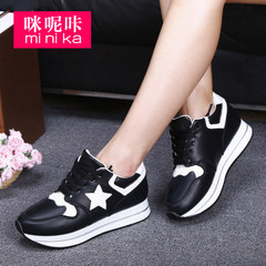MI Ka fall 2015 the new platform increased female thick-soled Casual Shoes Sneakers Shoes asakuchi breathable shoes