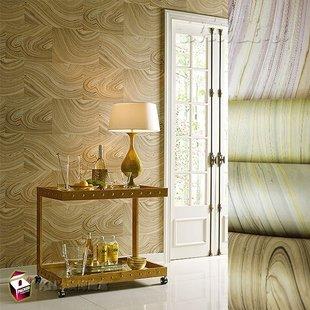 美国YORK约克进口壁纸墙纸正品653 后现代北欧抽象木纹 客厅背景