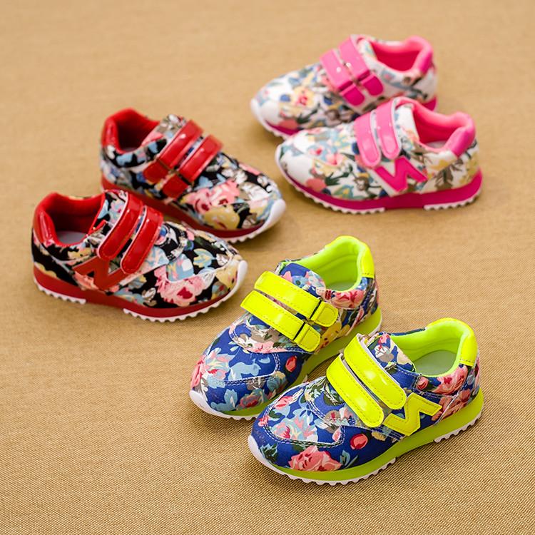 2015 новых мальчиков и девочек детей обувь Детская обувь Холст Повседневные обуви Корейский приливные обувь Детская