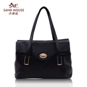 Sand rat bag 2015 new Joker fashion the first layer of leather large shoulder bag Briefcase