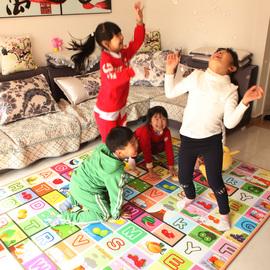 垫子宝宝爬行垫加厚地垫环保爬爬垫泡沫垫地垫婴儿童游戏毯冬季加