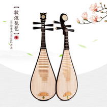 Dunhuang Pipa national Musical Instruments Adult test class playing Wood Zhenxi children junior 560M Pipa 561M Upgrade