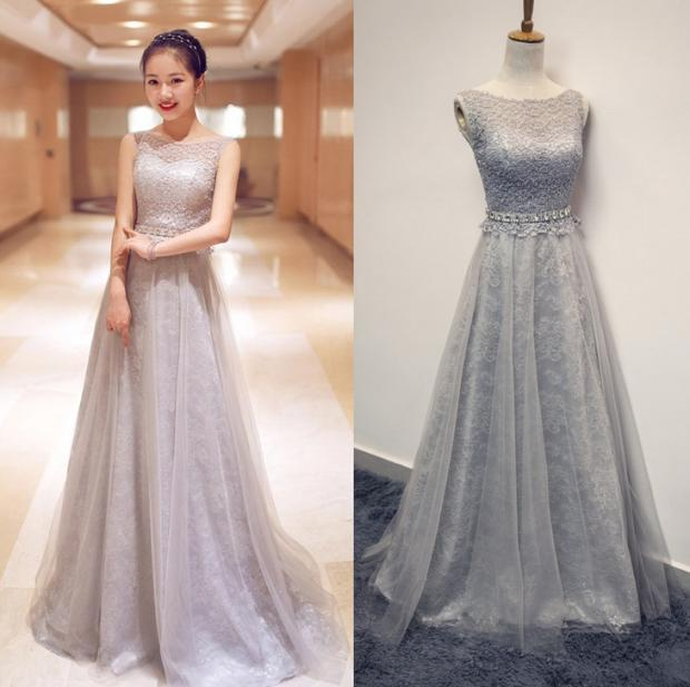 Slimming banquet Korean fashion bridesmaid dresses - Mlyar