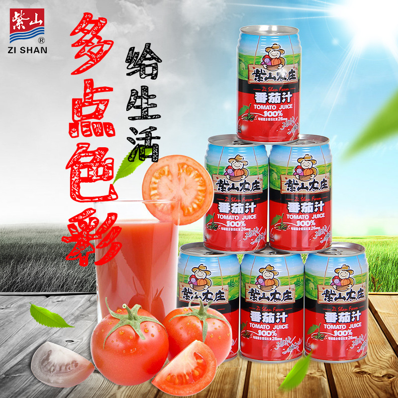Tomato juice 310ML * 6 from Zishan farm