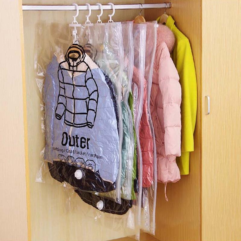 Домой ежедневно пыленепроницаемый сжатие висит сумка вешать подвесной одежда разбираться весить одежду мешок подвеска стиль вакуум чистый черный мешок