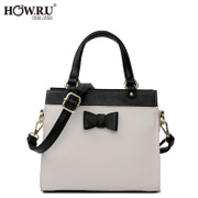 2015 new purses in autumn and winter fashion Korean bows laptop Messenger bag