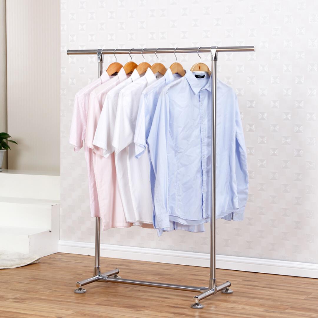 Вешалка для одежды один полюс утепленный Внутренняя сушильная стойка из нержавеющей стали для телескопической простыни