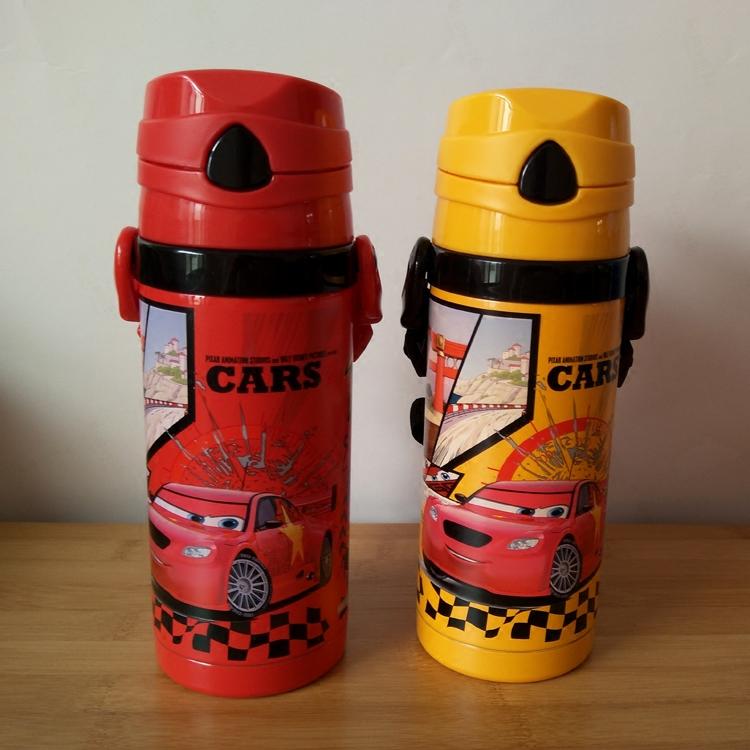 迪士尼正品不锈钢儿童保温杯学生水壶背带吸管杯送杯刷吸管刷吸头