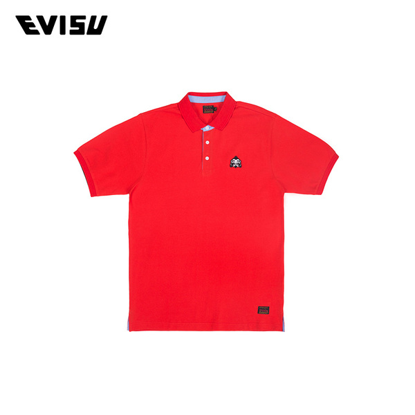 EVISU 16 spring and summer men's polo shirt price tag 899 1ESHTM6PS504XX