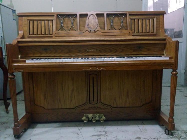 三益复古二手钢琴韩国原装进口初学练习考级立式高端品牌