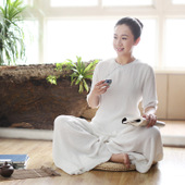 Tang Style Cotton Meditation Clothes