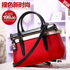 Miao di 2015 new leather handbag color handbags for fall/winter commuter single diagonal shoulder bag Briefcase bags