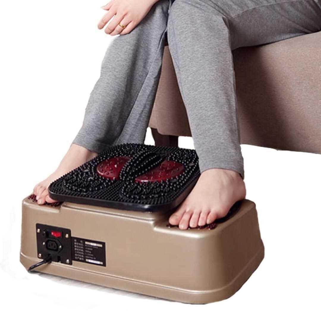 气血循环机多功能按摩器足疗养生机 有线遥控款送磁佛手