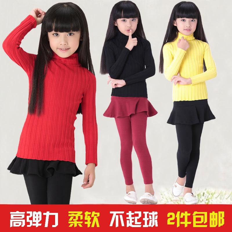Ребенка база свитер девочек игры женский ребенка водолазка устанавливает спектакли в конце жесткой рубашки