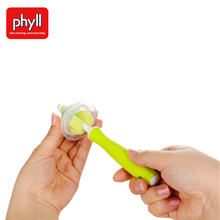Phyll will brush, sponge nipple baby pacifier sponge cleaning brush head South Korea imported from 2 only