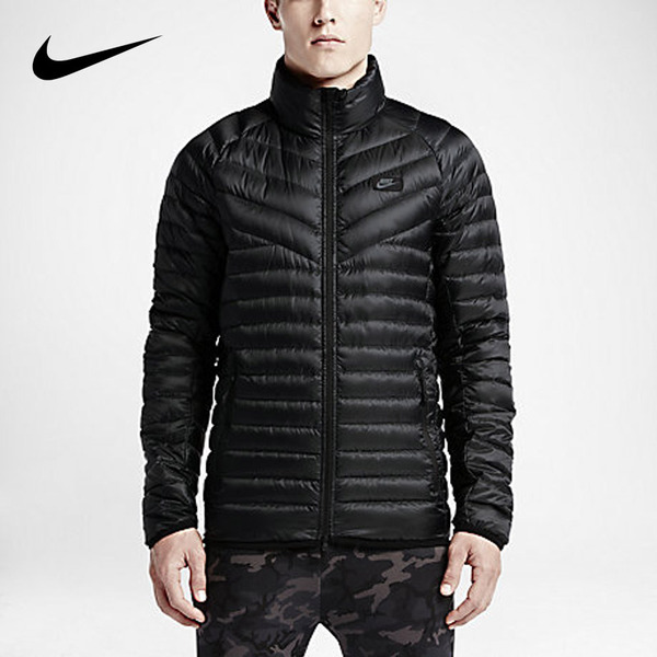 Road wins authentic NIKE Nike men's sports and leisure sports jacket warm duck down jacket 693 530