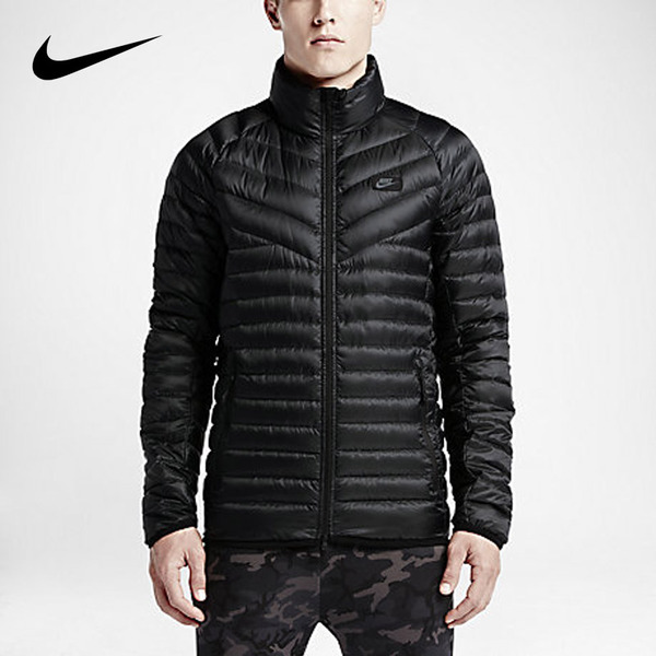Road wins authentic NIKE Nike men's sports casual sports jacket to keep warm duck down jacket 693530