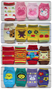 Tung Cheap Spring summer children baby crawling toddler socks kneepad elbow cuff socks for boys and girls