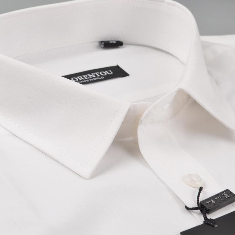 老人头专柜正品新款白色男士短袖衬衫工装半袖男式正装衬衣GB2022