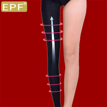 EPF strong pressure stovepipe socks legs shaping spring and autumn winter models thick leggings wearing high waist can not afford the ball pressure pants women