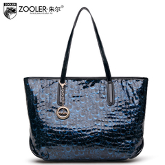 Jules ladies patent leather shoulder bag 2015 new leather shoulder bag for fall/winter fashion Joker in Europe and America handbag
