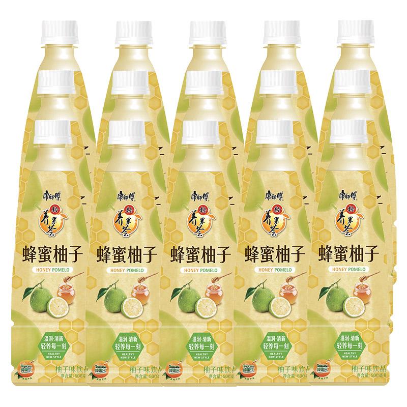~天貓超市~康師傅 蜂蜜柚子500ml^~15瓶 飲料 飲品  華東