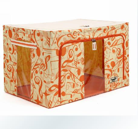 正品鳄鱼乐扣收纳箱百纳箱收纳盒整理箱牛津布箱钢架透视窗 包邮