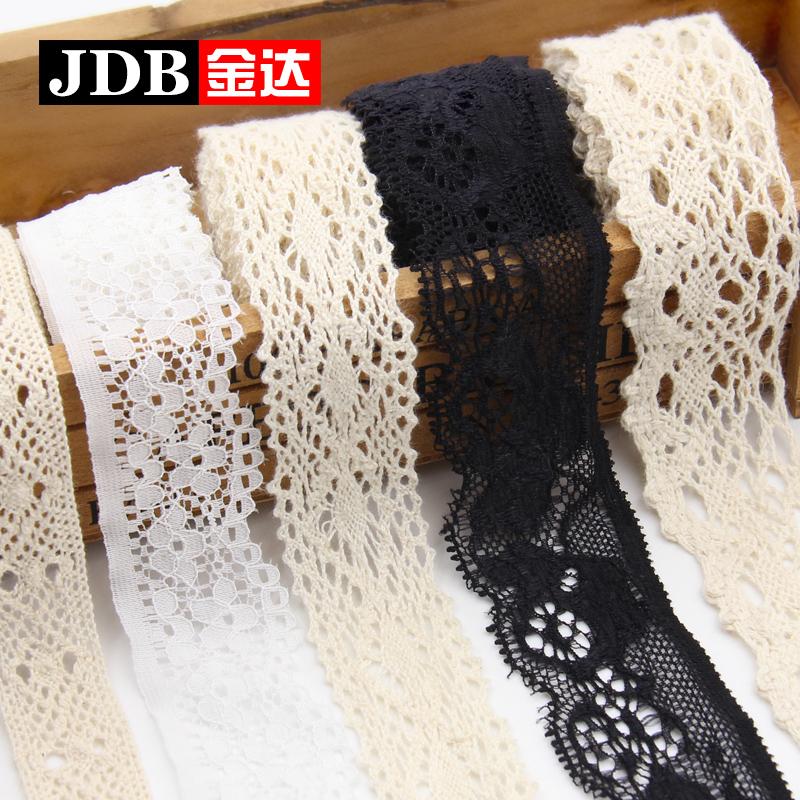 DIY ручной работы хлопок материал одежда ширина одежда аксессуары кружево группа материал занавес одежда хлопок кружева аксессуары