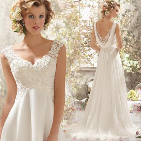 Платья 2016 новый лей Xia хвост Свадебное платье без спинки невесты плечи поддержки партии костюмы