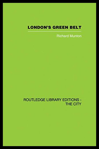 【预售】London's Green Belt: Containment in Practice