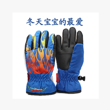 More authentic kidzamo baby cotton gloves children ski gloves warm space points refers to small gloves in winter