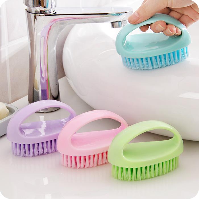 Яркий яйце-образный творческий многофункциональный мех очистка щеткой ванна щетка охрана окружающей среды пластик анти ванная комната очистка щеткой сын
