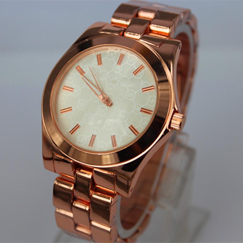 Новый MK смотреть внешней торговли моды горячей набрать дамы часы простой МК гиперобъекта