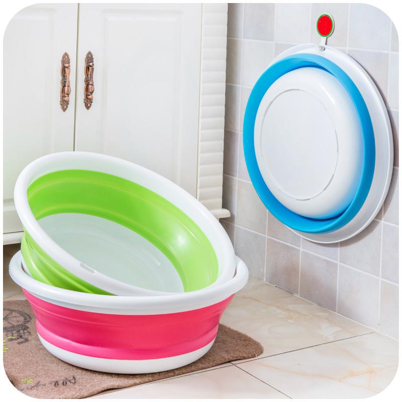 Сложить бассейн сгущаться на открытом воздухе сложить бассейн творческий складные портативный путешествие умывальник мыть ступня мыть бассейн