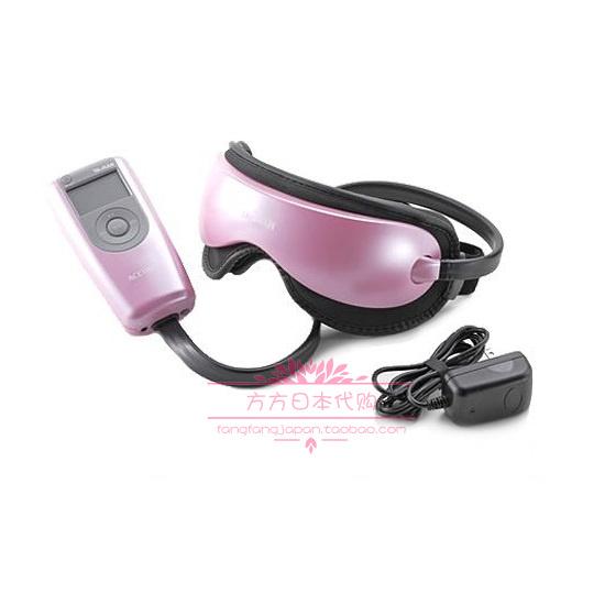 日本代购 Ya-man气压按摩温感眼罩眼部护理缓解眼疲劳黑眼圈新品