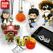 The original Japanese one piece ten thousand generation decorations The mobile phone's accessories sailing king anime figurines Mobile phone chain accessories