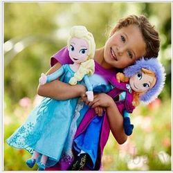皮卡丘喷火龙冰雪奇缘毛绒娃娃安娜爱莎elsa公主毛绒玩具玩偶公仔