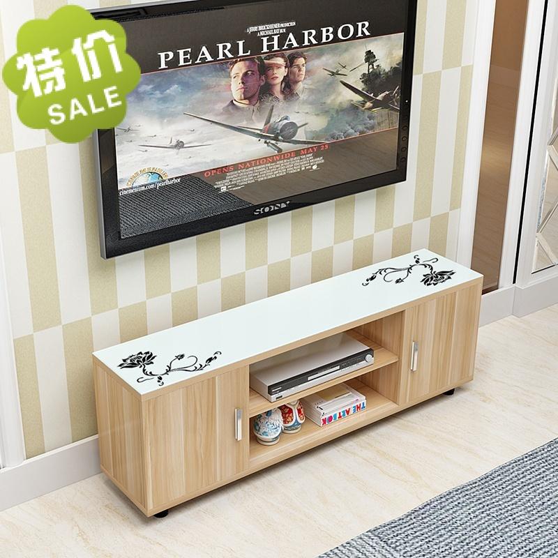 Телевизионный шкаф простой современный специальное предложение спальня мини закалённое стекло шкафы небольшой квартира легко гостиная телевизор кабинет
