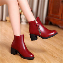 Autumn female short boots han edition leisure shoes Korean women's wear short boots nvxie knight short canister boots