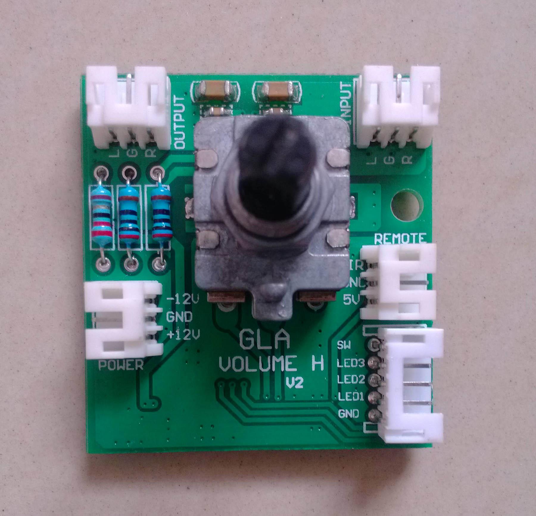 HIFI  高级音量控制板 遥控音量电位器 电位器升级长寿命 (可显示