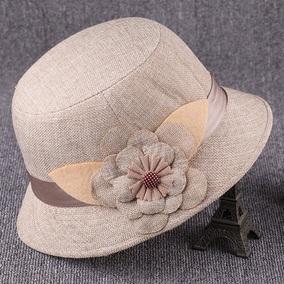 老年人春秋季中年老太太盆帽